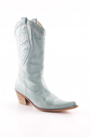 Colorado Westernstiefel blassgrün-hellblau Country-Look