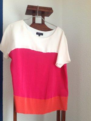 Colorblocking Seidenshirt von Caroll