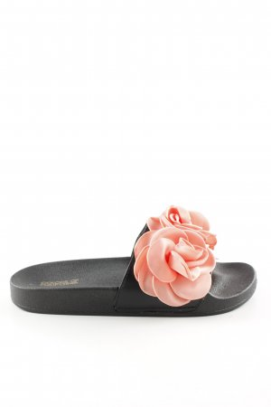 Colors of California Slip-on Shoes black-pink casual look