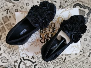 Colors of California Slip-on Shoes black