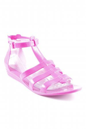 Colors of California Beach Sandals violet beach look