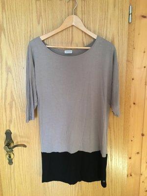 Colour Color Block Kleid, schlicht, minimalistisch, schwarz, grau