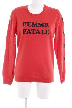 Colourful Rebel Sweatshirt rot Casual-Look