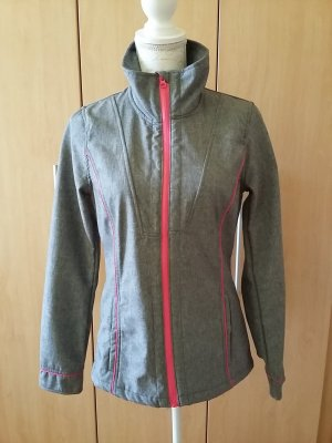 Colours of the World Softshell Jacket grey polyester