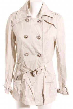 Colours of the World Trenchcoat crème-beige clair style anglais