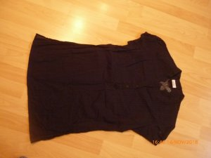 COLOURS OF THE WORLD Tunika / Longbluse gr M  38/40 schwarz Top!