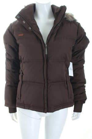 Columbia Down Jacket brown-beige athletic style