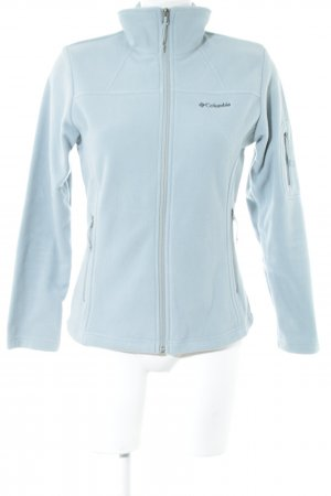 Columbia Fleecejacke blassblau Casual-Look