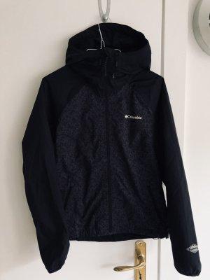 Columbia Hardshell Jacke Regenjacke schwarz XS 34 Damen