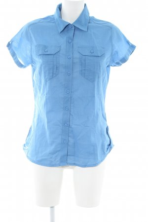 Columbia Short Sleeve Shirt blue casual look