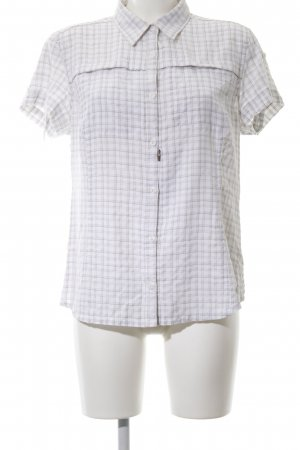 Columbia Short Sleeve Shirt white-light grey allover print business style