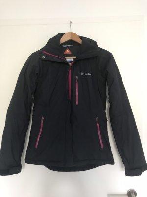 Columbia Outdoor Jacket violet-dark blue