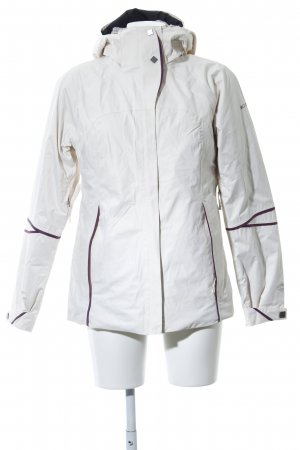 Columbia Outdoor Jacket white-lilac striped pattern casual look