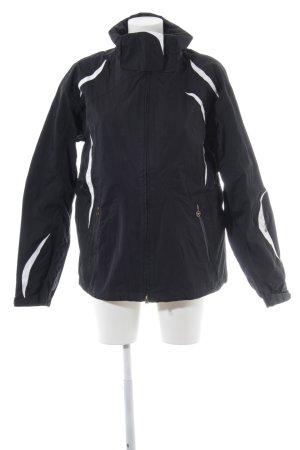 Columbia Outdoor jack zwart-wit atletische stijl
