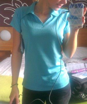 Columbia Polo Shirt turquoise-cadet blue