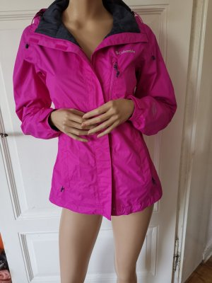 Columbia Softshell Jacke Pink Gr. S tailliert Outdoor Wandern Sport Damen