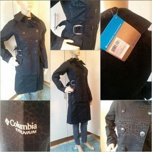 Columbia Softshell Trenchcoat 34/36 neu