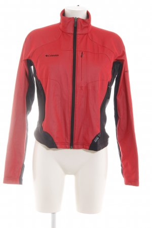 Columbia Sports Jacket black-red athletic style
