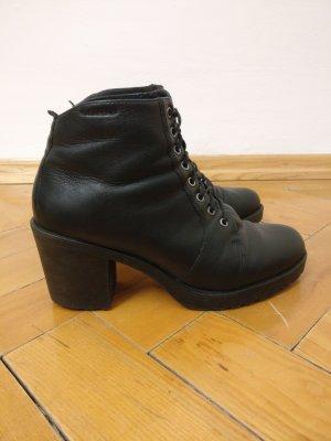 Combat Ankle Boots Stiefelette aus Leder von Vagabond