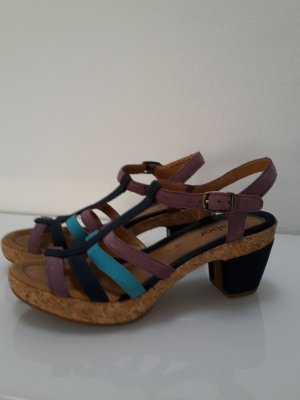 Gabor Comfort Strapped High-Heeled Sandals multicolored