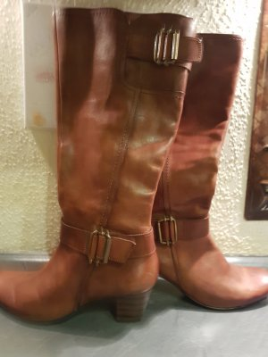 5th Avenue Botas altas marrón claro-coñac