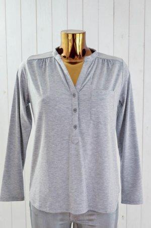 Camisa gris claro Algodón