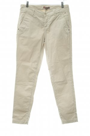 Comma 7/8-Hose hellbeige Casual-Look