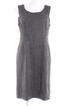 Comma A-Linien Kleid anthrazit meliert Business-Look