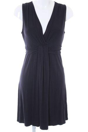Comma A-Linien Kleid dunkelblau Casual-Look