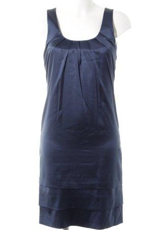 Comma A-Linien Kleid dunkelblau Elegant