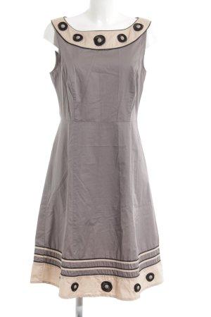 Comma A-Linien Kleid mehrfarbig Elegant