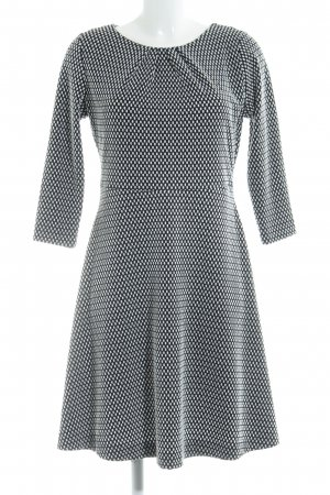 Comma A Line Dress black-white casual look
