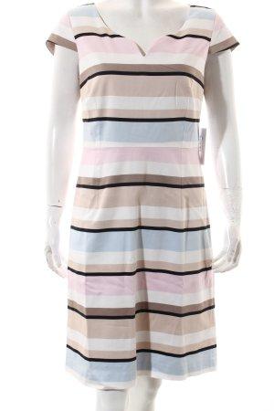 Comma A-Linien Kleid Streifenmuster klassischer Stil