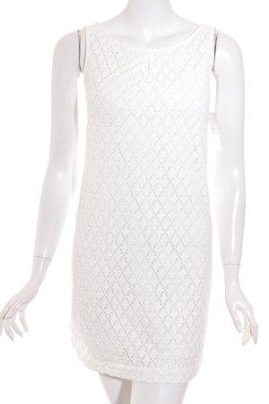 Comma A-Linien Kleid weiß 60ies-Stil