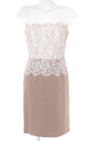 Comma Abendkleid beige-wollweiß Elegant