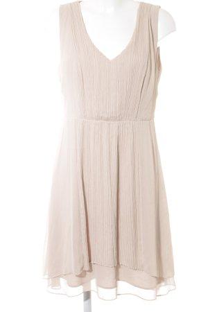 Comma Abendkleid creme Elegant
