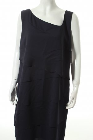 Comma Abendkleid dunkelblau Eleganz-Look