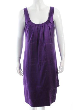 Comma Abendkleid dunkelviolett Eleganz-Look