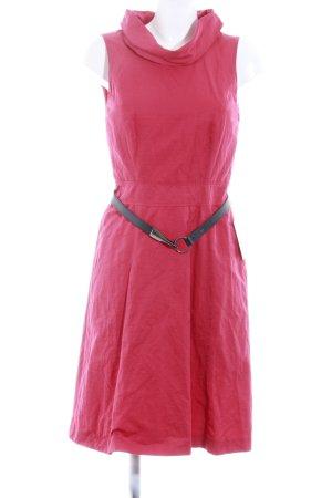 Comma Abendkleid rot schlichter Stil