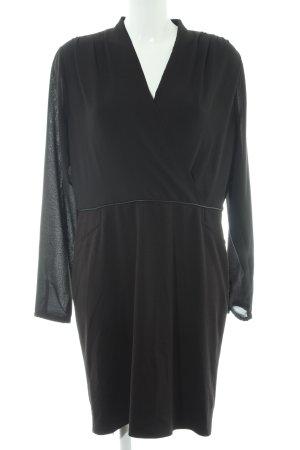 Comma Abendkleid schwarz Business-Look
