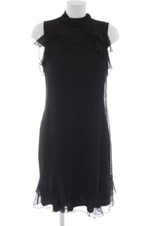 Comma Abendkleid schwarz Casual-Look