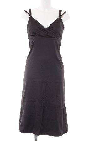 Comma Abendkleid schwarz klassischer Stil