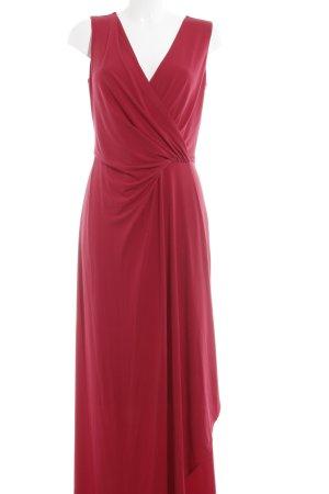 Comma Abendkleid ziegelrot Elegant