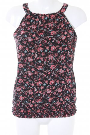 Comma ärmellose Bluse florales Muster Casual-Look