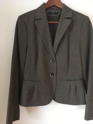 Comma Anzug, schwarz, braun