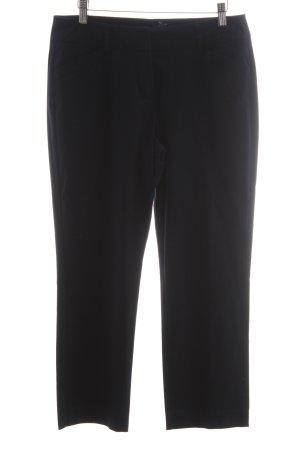 Comma Anzughose schwarz klassischer Stil