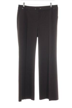 Comma Pantalone da abito nero stile professionale