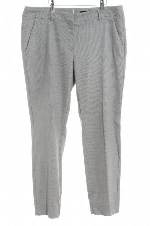 Comma Suit Trouser light grey allover print business style