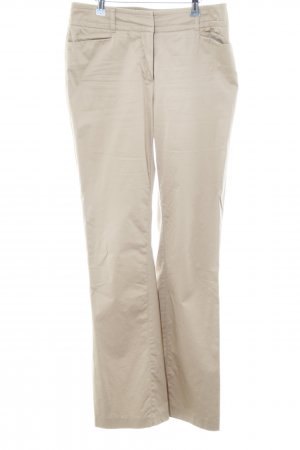 Comma Pantalone da abito color carne-crema stile professionale