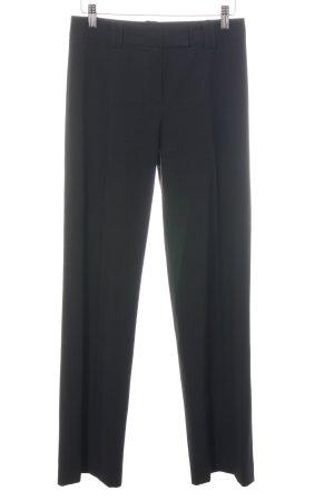 Comma Pantalon zwart zakelijke stijl